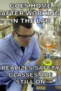 Chemistry Meme Safety Glasses